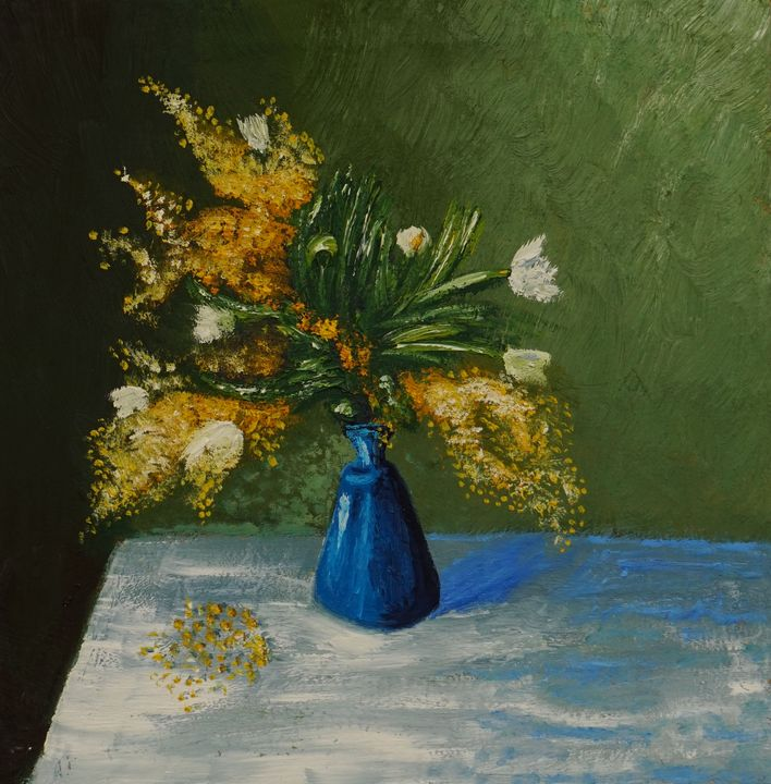 Still Life Flowers - Ibne Musa