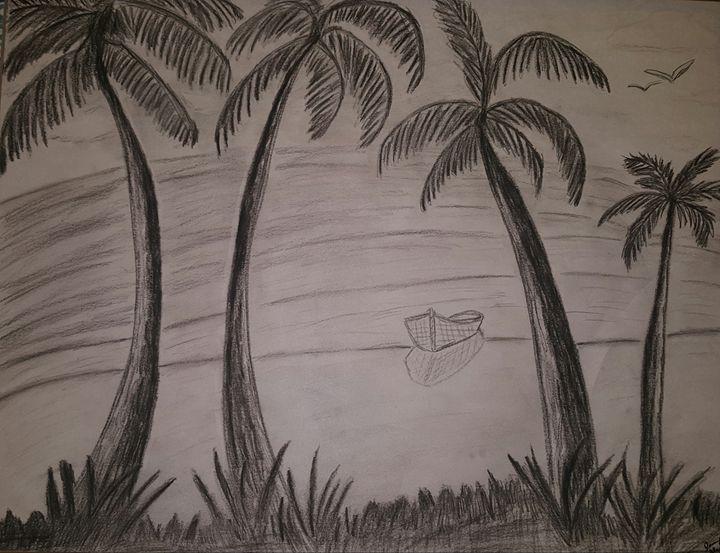 Palm trees - J4peas