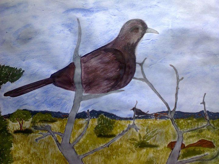 pigeon - CAM's art