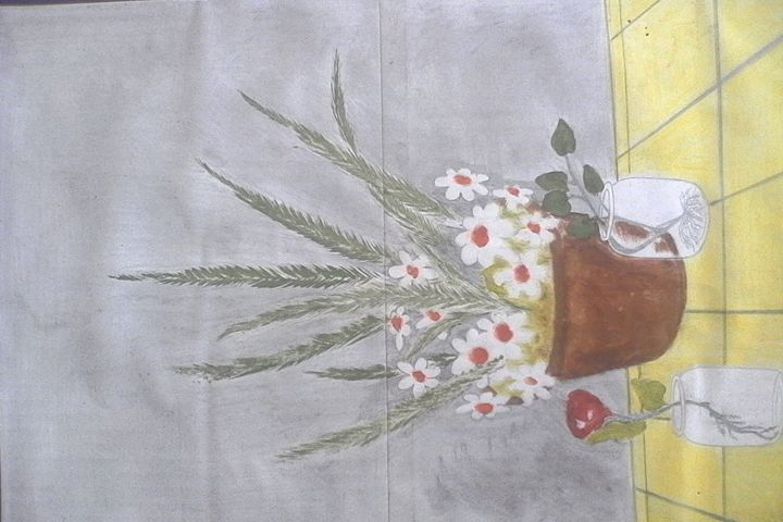 flowerpots - CAM's art