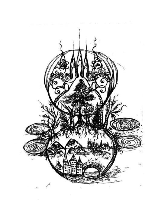 Forest between worlds - Lady Nirriti