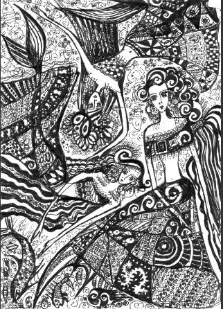 Sisters mermaids - Lady Nirriti