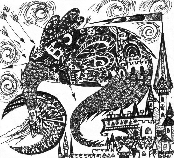 The great dragon Smaug - Lady Nirriti