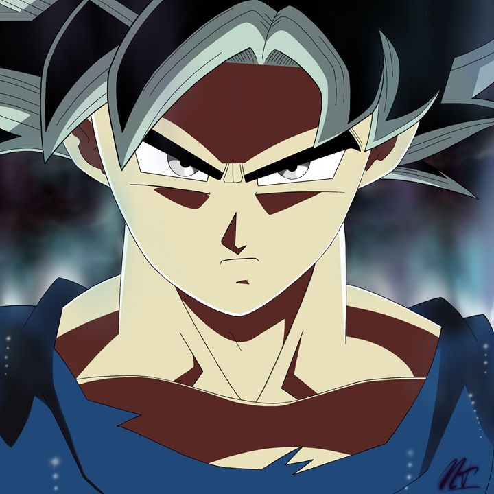 """Ultra Instinct"" Goku - Nik Taylor Art"