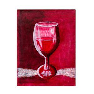 Glass Half Full- Art by Satish Bapat
