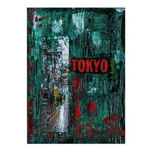 Rain in Tokyo - Art by Satish Bapat