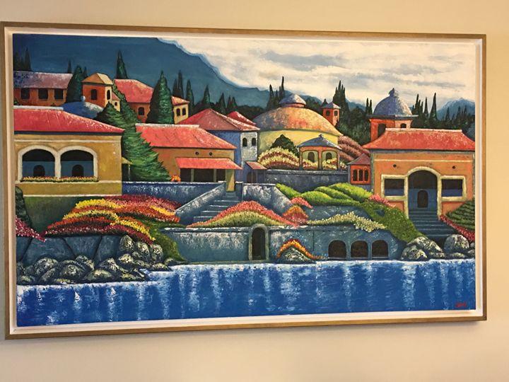 Village by the Sea - Glenn Funkhouser
