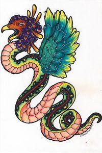 Squaking Snake