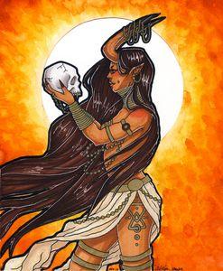 Tribal Demon Girl