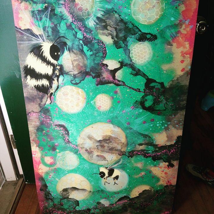 Cosmic bees - Sarah Jean Youngs