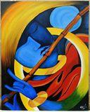 Lord Krishna Modern Art