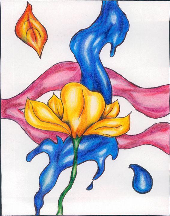 Pretty flower - Mark's Art