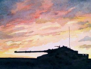 Armoured Sunset