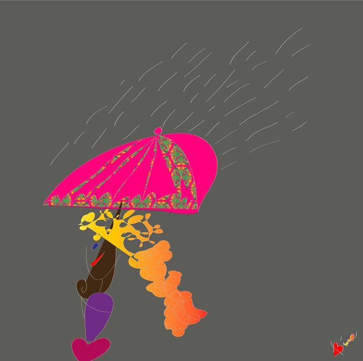 Rain - My Little Drawings
