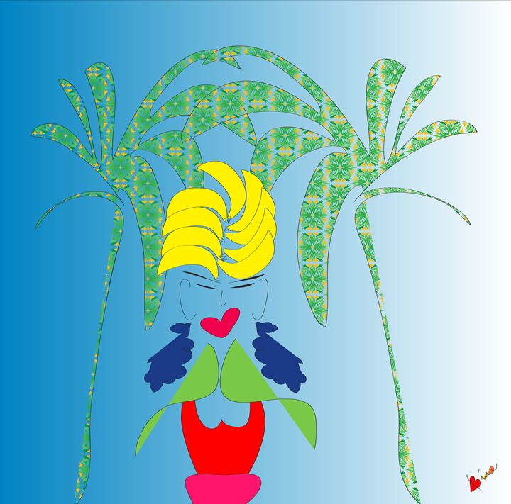 Miss Summer - My Little Drawings