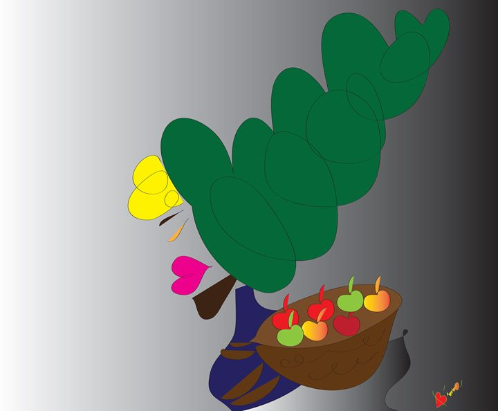 Apples - My Little Drawings