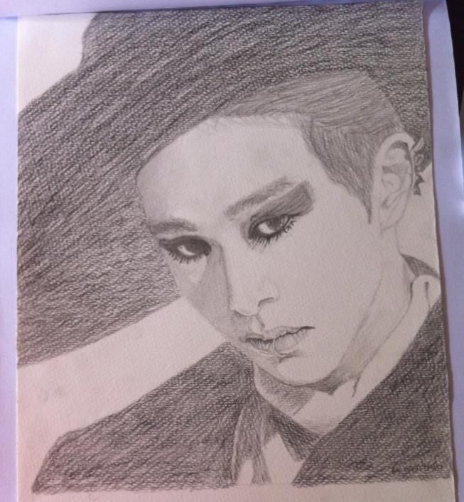 KPOP fan art - Handsketch attack