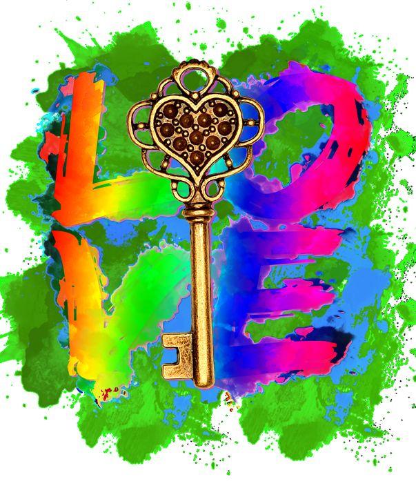 The Key to my HEART! - Deborah Shack