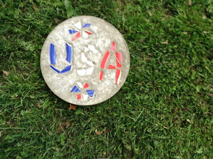 USA my home - Roni Rocks