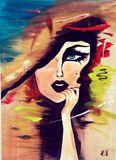 Drama queen, acrylic