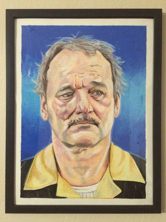 Bill Murray - Dain Williams Illustration