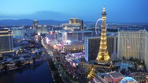 Evening in Las Vegas - Artistic Anglez by Danielle