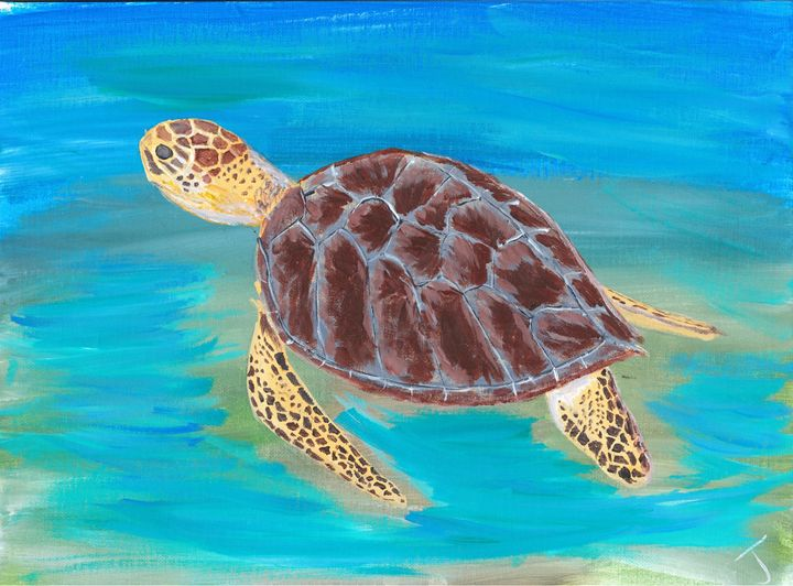 Sea Turtle - The Broken Hearted Artist