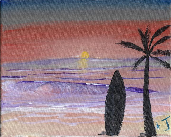 Last Wave of the Day - The Broken Hearted Artist