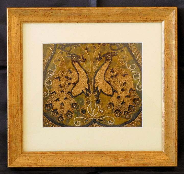 Vintage Indian Framed Material - Indian Inc.