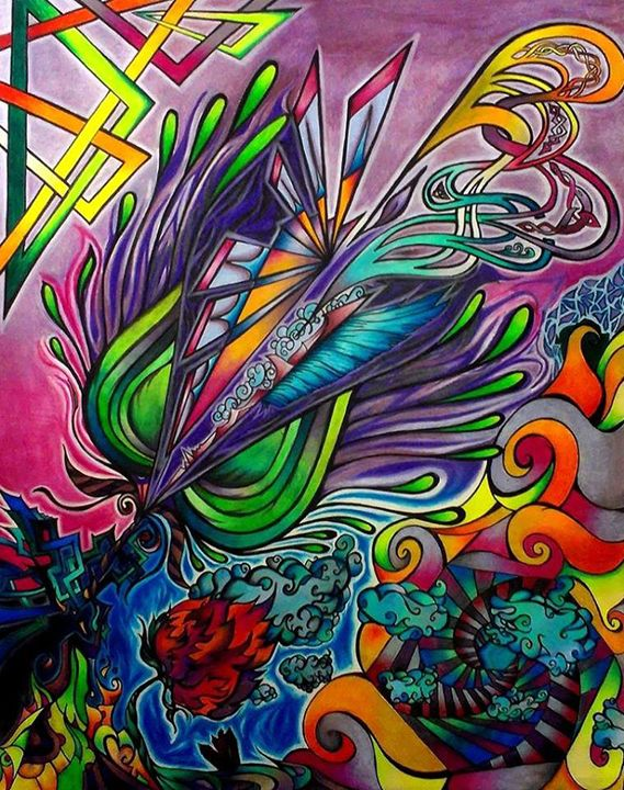 Beautiful Chasm - Liquid Rainbow X (Denis DeMonte)