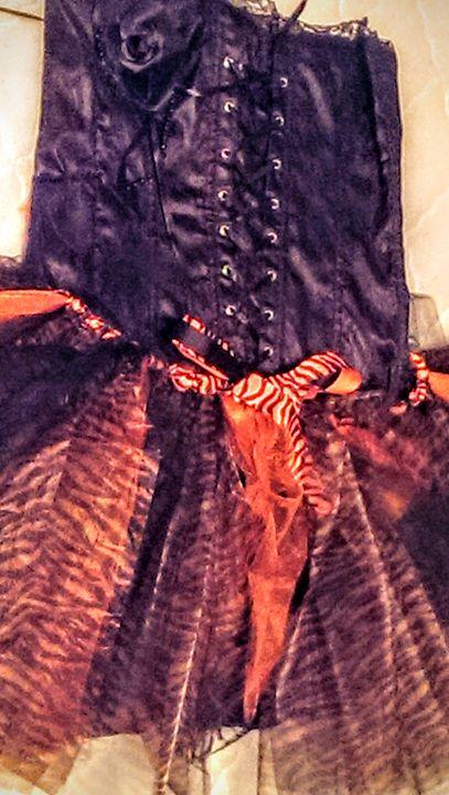 Tiger Print Tutu Juniors Size L - Jenny Von Doom
