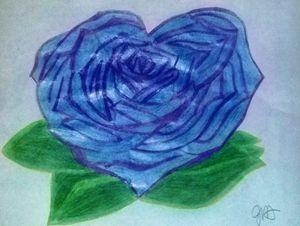 Blue Heart - Jenny Von Doom