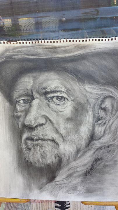 Willie Nelson-The Legend - Valentin Fine Art