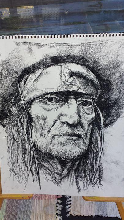 Willie Nelson - Valentin Fine Art