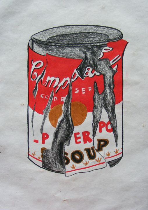 Campbell´s can - Fine Art