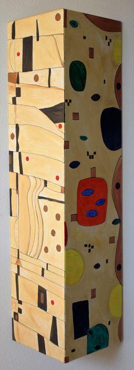 "Untitle-20""x40""-Acrylic - Vega Questell Gallery"