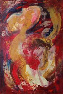 """De La Mancha-24""""x36""""-Acrylic on Canv"""