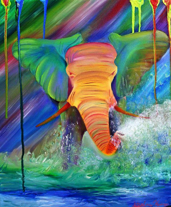 Candy Circus - Art by Stephani Analah