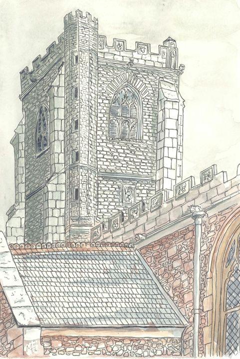 St Michael, Minehead - Mel Tranter