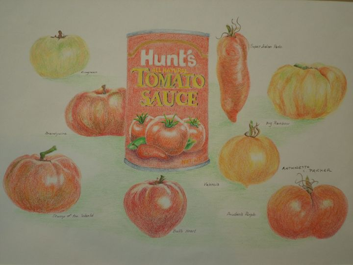 Can and Tomatoes - Antoinette Parker