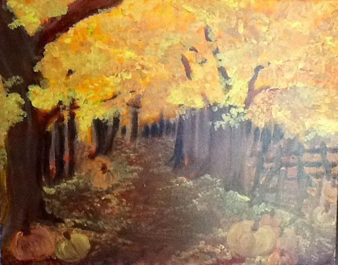 FALL FOREST - Rachael G