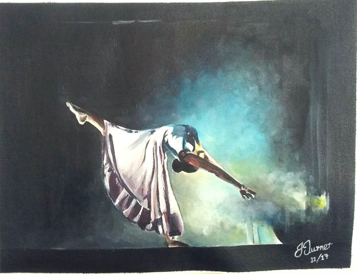 The dancer - Jud's Art World
