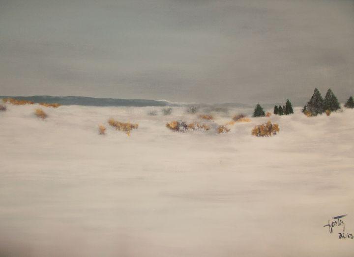 blanc neige - galerie fortin lise-marielle