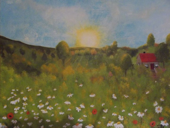 paysage rural - galerie fortin lise-marielle