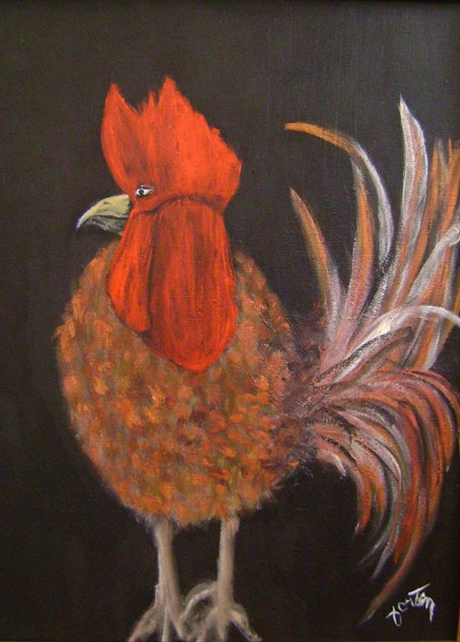 coq a denyse - galerie fortin lise-marielle