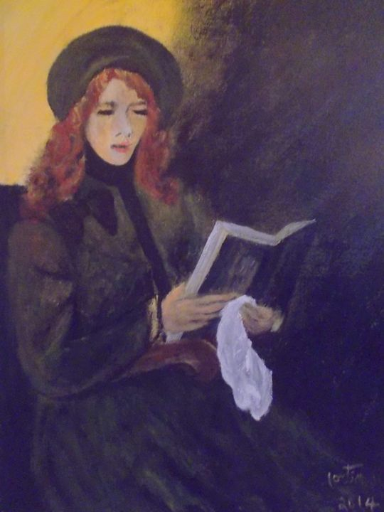 la lectrice - galerie fortin lise-marielle