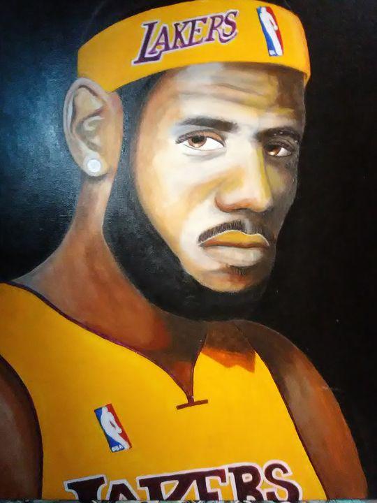 Lakers, LeBron - Archangelo