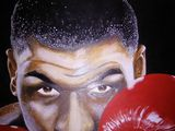 Portrait of Iron Mike Tyson