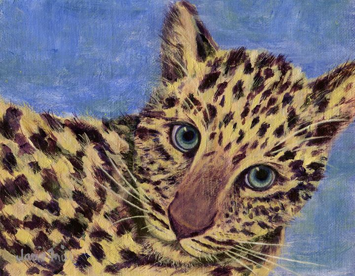 Spotted Cat - Vivid Perceptions by Jamie Frier