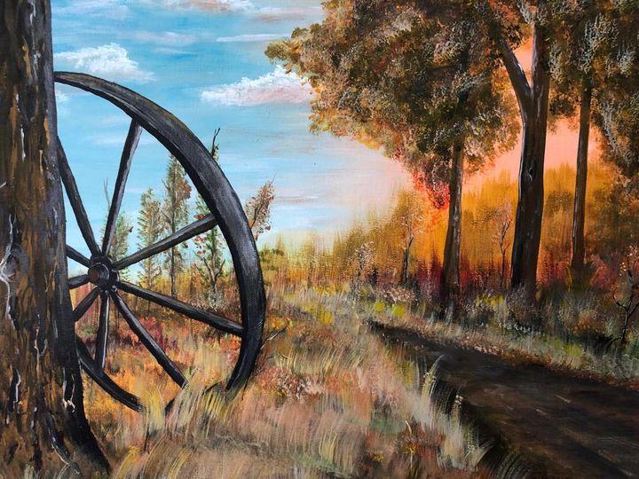 Iron wheel - JavuArts
